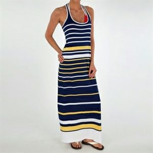 Sperry Top-Sider Stripe Jersey Maxi Dress